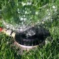 Zavlažovač multifunkční (9) na trávník z kovu 26020