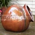 Fekvő amfora Hestia Red Copper 50cm