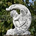Angyal szobor rózsákkal ba 215