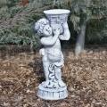 Fiú szobor kaspóval ba 51