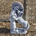 Kisfiú kutyával szobor ba 166