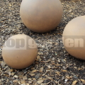 Dekorációs gömb barna