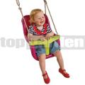 Gyermek hinta Luxe lila-zöld