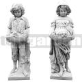 Kislány beton szobor ART 010