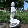 Kaspó kislány szoborral ba 191