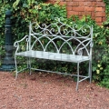 Kovová záhradná lavička FSVG3