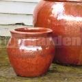 Virágcserép Artemis Red Copper 29 cm