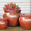 Kvetináč Artemis Red Copper 58cm