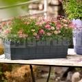 Virágcserép Country 50 cm antracit 515250