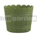 Kvetináč Country 24 cm zelený 515261