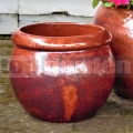 Virágcserép Gaia Red Cooper 32 cm