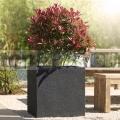 Virágcserép Lisburn 47 Basalt Black