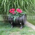 Műanyag fa hatású virágcserép S 6699