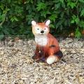 Ülő róka szobor A1066