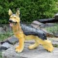 Farkaskutya szobor A901