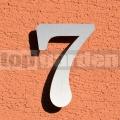 Rozsdamentes házszám 7