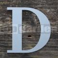 """Rozsdamentes acél betű """"D"""""""