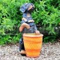 Kutya szobor M95a