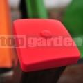 Műanyag oszloptakaró piros 10cm