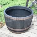 Műanyag virágcserép Blenheim 61cm bronz 238973