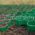 Műanyag gyeprács zöld