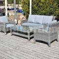 Műrattan kerti bútor Harmony grey
