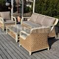 Nádfonat-műrattan kerti bútor Luxury XL
