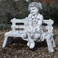 Padon ülő lány szobor ba 62