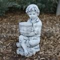 Beton kisfiú szobor ba 137