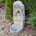 Natur kút - kerti mosdó