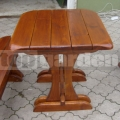 Négyzet alakú kerti asztal SM
