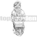 Törpe szobor ART 025