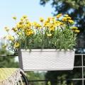 Virágláda 75cm fehér Casa Mesh 515024 Emsa