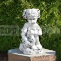 Guggoló kislány szobor ba 171