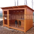 Kutya kennel Luxus 2m x 2,5m