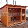 Kutya kennel Luxus 2m x 2m
