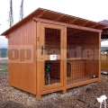 Kutya kennel Luxus 2m x 3m
