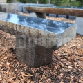 Záhradná lavica Bazalt 180