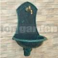 Kerti falikút Siena antik zöld 2713