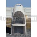 Kerti beton kandalló 12