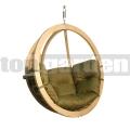 Függő fotel Zosia oliva színben