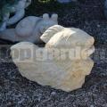 Aranyhal szobor 321a
