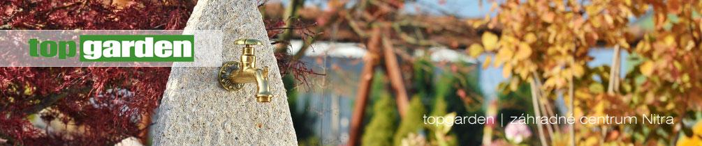 e-shop - topgarden - záhradné centrum Nitra