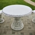 Betónové záhradné stoly