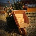 Drevené táčky - drevené fúriky a drevené vozy