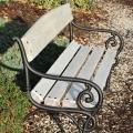 Drevené záhradné lavice