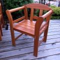 Drevené záhradné stoličky