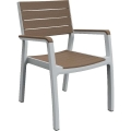 Plastové záhradné stoličky