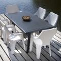 Plastové záhradné stoly