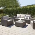 Ratanový plastový záhradný nábytok
